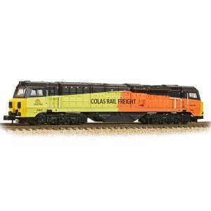 Graham Farish N 371-641 Class 70 70805 Colas (Air Intake Modifications)