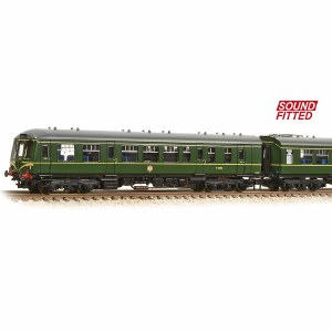 Graham Farish N 371-887DS Class 108 3 Car DMU BR Green Speed Whiskers (DCC Sound)