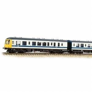 Graham Farish N 371-888 Class 108 3 Car DMU BR White & Blue