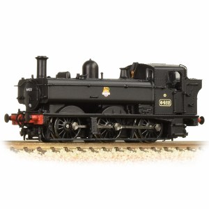 Graham Farish N 371-986A GWR 64XX Pannier Tank 6422 BR Black (Early Emblem)