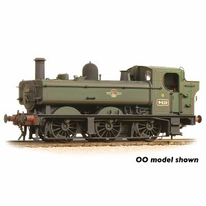 Graham Farish N 371-988 Class 64xx Pannier Tank 6419 BR Lined Green Late Crest Weathered