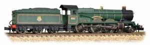 Graham Farish N 372-031 Castle Class 5041 Tiverton Castle BR Green Early Emblem