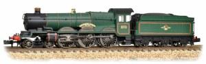 Graham Farish N 372-032 Castle Class 5070  Sir Daniel Gooch BR Lined Green Late Crest
