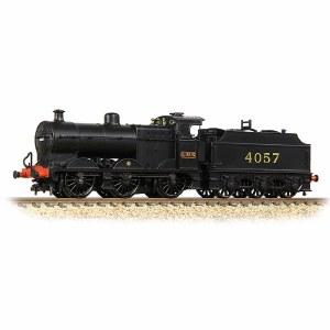 Graham Farish N 372-063 MR 3835 4F with Fowler Tender 4057 LMS Black (MR numerals)