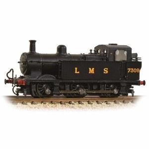 Graham Farish N 372-210A Class 3F (Jinty) 7309 LMS Black