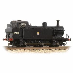 Graham Farish N 372-211A Class 3F (Jinty) 47314 BR Black Early Emblem