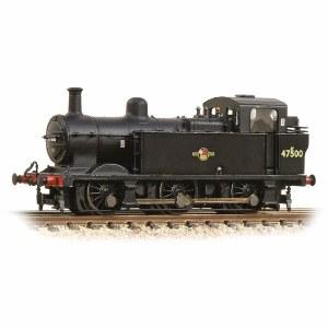 Graham Farish N 372-212A Class 3F (Jinty) 47500 BR Black Late Crest