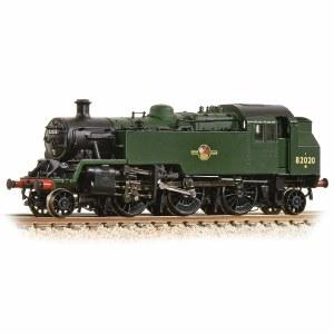 Graham Farish N 372-331 BR Standard Class 3MT Tank 82020 BR Plain Green Late Crest