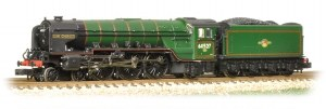 Graham Farish N 372-387 Class A2 60527 Sun Chariot BR Lined Green Late Crest