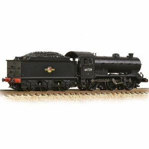 Graham Farish N 372-403A LNER J39 with Stepped Tender 64739 BR Black (Late Crest)