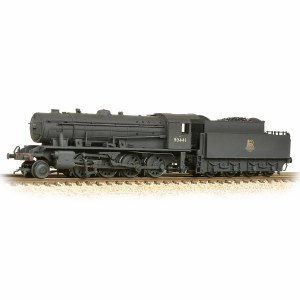 Graham Farish N 372-425A WD Austerity Class 2-8-0 90441 BR Black Early Emblem Weathered