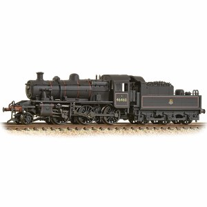 Graham Farish N 372-629 Ivatt Class 2MT 2-6-0 46460 BR Early Emblem Weathered