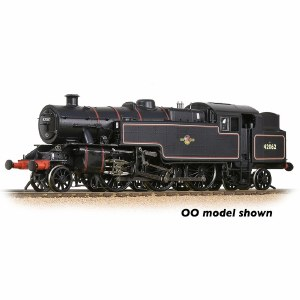 Graham Farish N 372-755 LMS Fairburn Tank 42062 BR Lined Black (Late Crest)