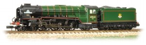 Graham Farish N 372-800A Class A1 60163 Tornado BR Lined Brunswick Green