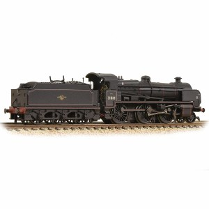 Graham Farish N 372-935 N Class 2-6-0 31810 BR Black Late Crest Weathered