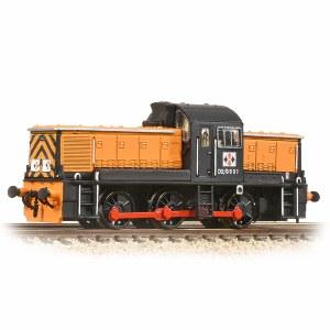 Graham Farish N 372-954 Class 14 D2/9531 NCB British Oak Orange & Black