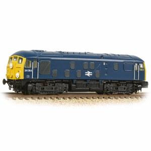 Graham Farish N 372-975A Class 24/0 24064 BR Blue