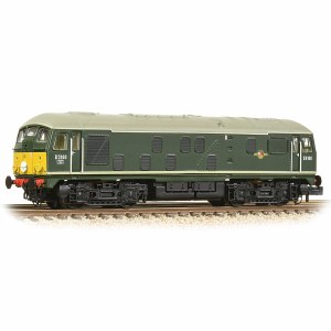 Graham Farish N 372-981 Class 24/0 D5100 BR Green (Small Yellow Panels)