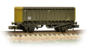 Graham Farish N 373-576A 46 Tonne glw MEA Open Box Wagon BR Coal Sector Weathered