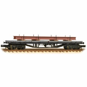 Graham Farish N 373-926D 30T Bogie Bolster C BR Grey (Early) - Includes Wagon Load