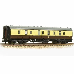 Graham Farish N 374-038A BR Mk1 BG Brake Gangwayed BR (WR) Chocolate & Cream