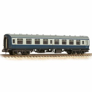 Graham Farish N 374-062D BR Mk1 SK Second Corridor BR Blue & Grey - Weathered