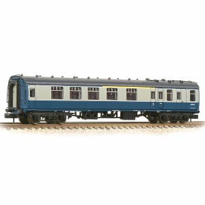 Graham Farish N 374-085B BR Mk1 BCK Brake Corridor Composite Blue & Grey