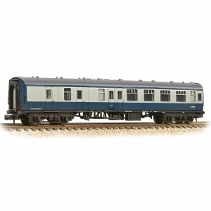 Graham Farish N 374-188D BR Mk1 BSK Brake Second Corridor BR Blue & Grey - Weathered