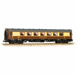 Graham Farish N 374-212 BR Mk1 SP Pullman Second Parlour Car 'Car 352' Umber & Cream