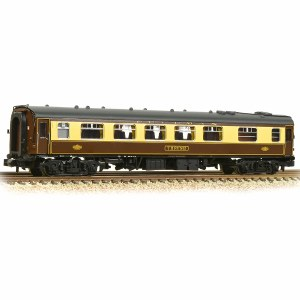 Graham Farish N 374-222 BR Mk1 FK Pullman First Kitchen Car 'Thrush' Umber & Cream