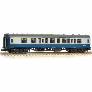 Graham Farish N 374-258C BR Mk1 CK Composite Corridor Blue & Grey
