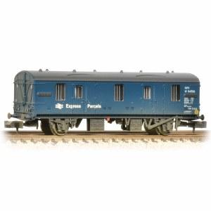 Graham Farish N 374-642 BR MK 1 CCT BR Blue Express Parcels Weathered