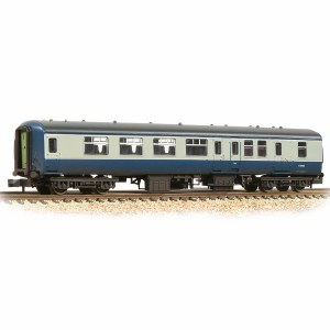 Graham Farish N 374-680B BR Mk2A BSO Brake Second Open BR Blue & Grey - Weathered