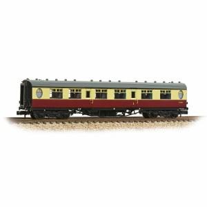 Graham Farish N 376-201 Thompson 1st Class Corridor BR Crimson & Cream