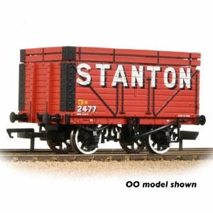 Graham Farish N 377-208 8 Plank Wagon Coke Rails 'Stanton' Red