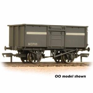 Graham Farish N 377-256 16 Ton Steel Mineral Wagon NCB Grey Weathered