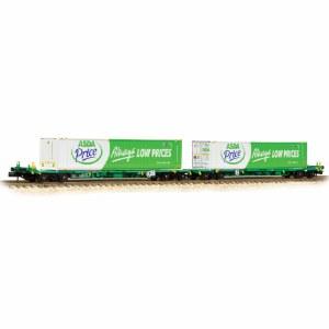 Graham Farish N 377-368 Intermodal (ASDA)