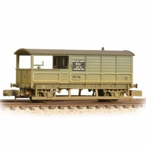 Graham Farish N 377-376A 20 Ton Toad Brake Van BR Grey Weathered