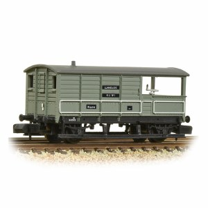 Graham Farish N 377-376B GWR 20T 'Toad' Brake Van BR Grey (Early)