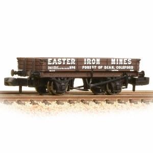 Graham Farish N 377-506 3 Plank Wagon 'Easter Iron Mines'
