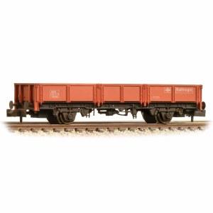 Graham Farish N 377-551B 31 Tonne glw OCA Dropside Open Wagon Red/Grey