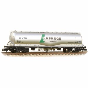 Graham Farish N 377-675B 100 Tonne JPA Cement Wagon VTG 'Lafarge Cement' Silver