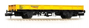 Graham Farish N 377-731 SPA Wagon (without Steel Coils) NR Yellow