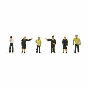 Graham Farish N 379-301 N Scale Police and Security Staff