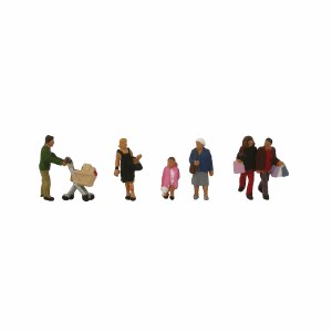 Graham Farish N 379-306 N Scale Shopping Figures