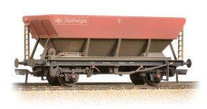 Bachmann OO 38-006D 46 Tonne HEA Hopper BR Railfreight Red Grey & Weathered