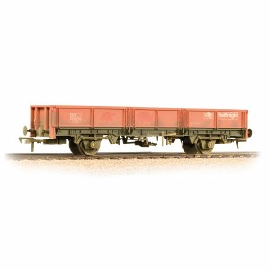 Bachmann OO 38-056B 31 Tonne OCA Dropside Open Wagon Railfreight Red - Weathered