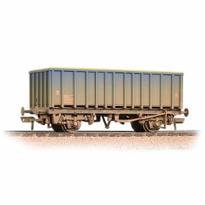 Bachmann OO 38-061A 45 Tonne glw MEA Open Box Wagon Mainline Blue - Weathered