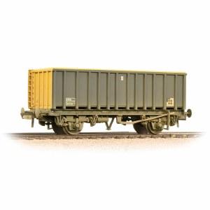Bachmann OO 38-063B 45 Tonne glw MEA Open Box Wagon BR Coal Sector - Weathered