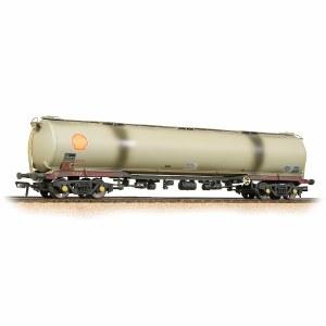 Bachmann OO 38-117 BR 102T TEA Bogie Tank Wagon 'BRT' Grey - Weathered